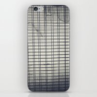 grid iPhone & iPod Skins featuring Grid by farsidian