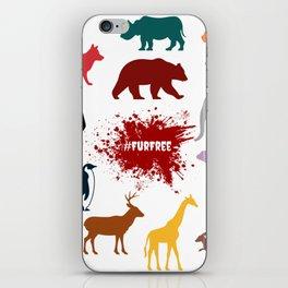 #FurFree ! iPhone Skin