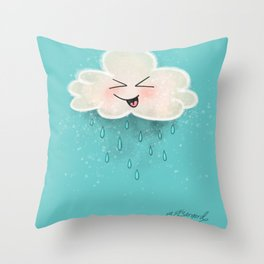 Pitter Patter Party! Throw Pillow