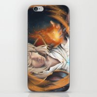 howl iPhone & iPod Skins featuring Howl by EliasLUGAS