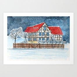 Thueringen Art Print