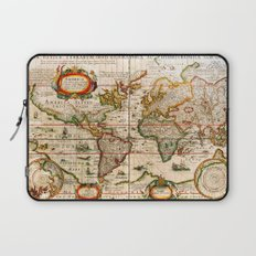 Vintage Map Laptop Sleeve