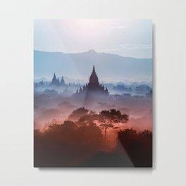The Magic Kingdom of Myanmar Metal Print