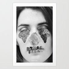 Immune To Emotion  Art Print