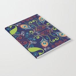 Peacock Nouveau Notebook
