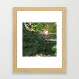 Crepe Myrtle In 3-D v.2 Framed Art Print