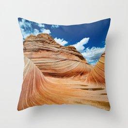 Spaghetti Western  - Fine Art Print Throw Pillow