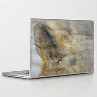 imagerybydianna Laptop & iPad Skins featuring inwardly, under a veil~sketch by Imagery by dianna