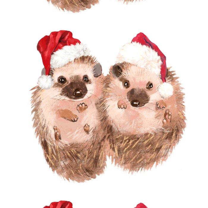 Christmas Twin Hedgehog Leggings