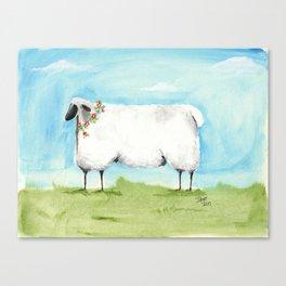 Don't be Sheepish! Canvas Print