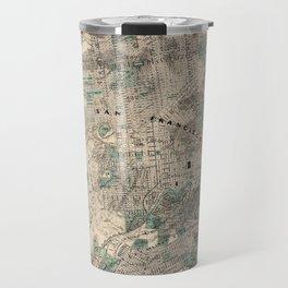Map of San Francisco 1869 Travel Mug