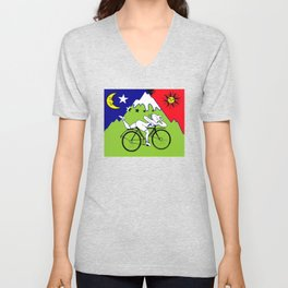 Lsd Bicycle Unisex V-Neck