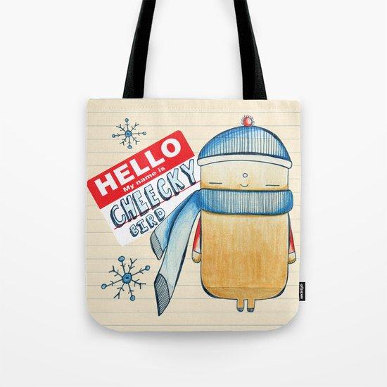 Cheeky Bird Tote Bag