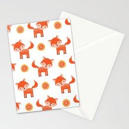 Orange Fox Stationery Cards