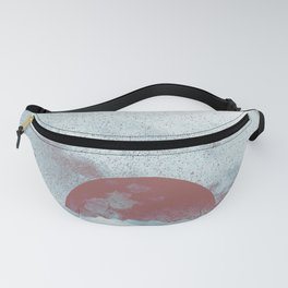 Pink Moon Mountain Fanny Pack