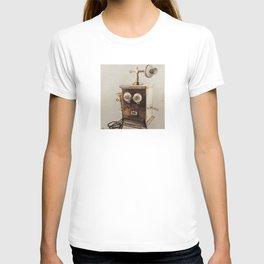 Vintage Telephone Wood Burning T-shirt