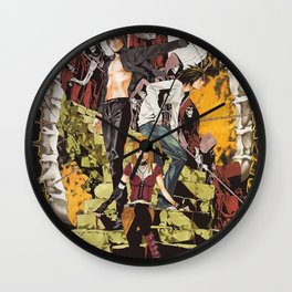 D Note Wall Clock