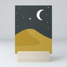 Starry Desert Mini Art Print
