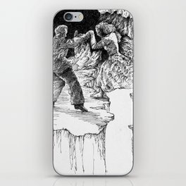 rescue at midnight iPhone Skin