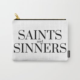 Saints and sinners Carry-All Pouch