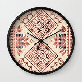 Palestina pattern Wall Clock