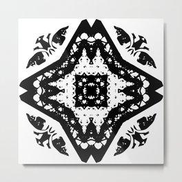 Callisto I (Black) Metal Print