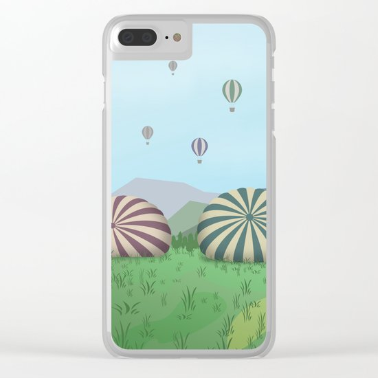 FROM THE HEIGHTS Clear iPhone Case