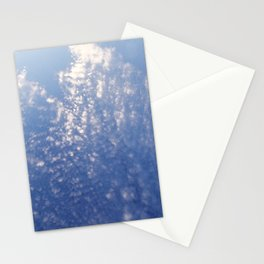 Sparkling Clouds Stationery Cards