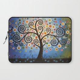 Abstract Art Landscape Original Painting ... Twilight Dreams Laptop Sleeve