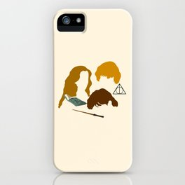 Wizard Trio iPhone Case