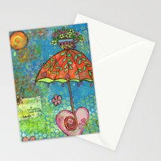 The Sun Also Shines Stationery Cards