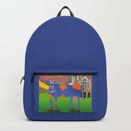 Udderly Frank - Funny Cow Art Backpack