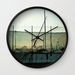 abandon amusement Wall Clock
