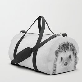 Hedgehog - Black & White Duffle Bag