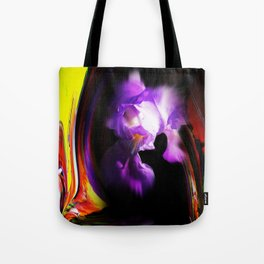 Abstract pefection -Lily Tote Bag