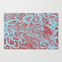 불쾌한 ver. 2 Canvas Print