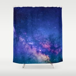 Starry Skies Shower Curtain
