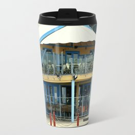 The blue Restaurant Travel Mug
