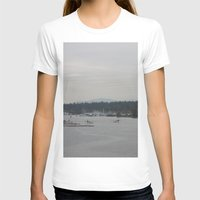 vancouver T-shirts featuring Vancouver Harbour by RMK Photography
