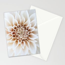 Cafe Au Lait Dahlia Stationery Cards