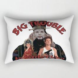 """""""Big Trouble"""" Rectangular Pillow"""