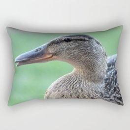 Female Mallard Rectangular Pillow