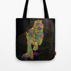 Technicolor Rex Tote Bag