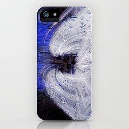 Twirls in Universum iPhone Case