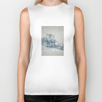 outdoor Biker Tanks featuring Outdoor Theater by Artist pIL