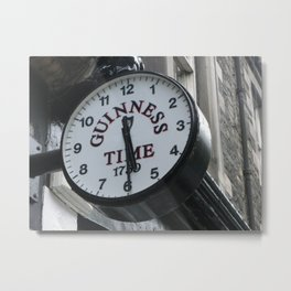 It is Guinness Time Metal Print