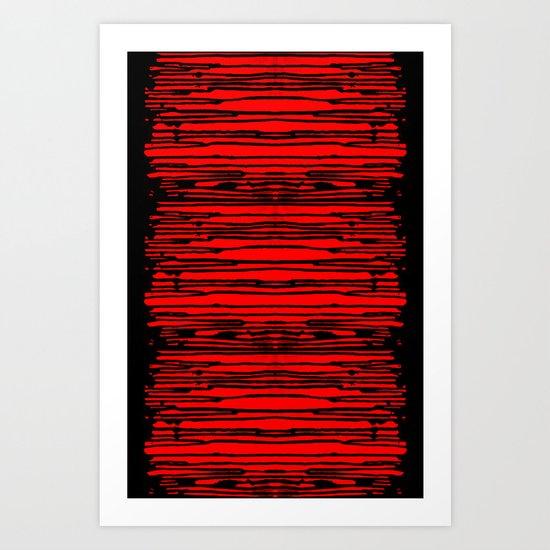 RedRain Art Print