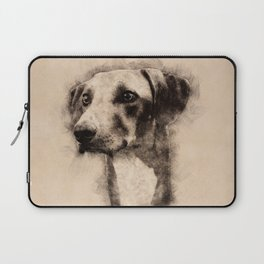 Azawakh Sighthound Sketch Laptop Sleeve