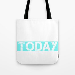 Not Today Carbs LCHF Keto Diet Tote Bag