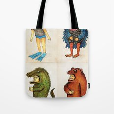 Costumes - Animalados Tote Bag